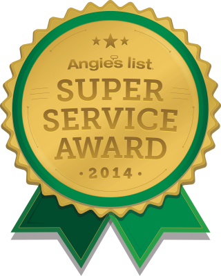 American Water Treatment Angies List Super Service Award 2014