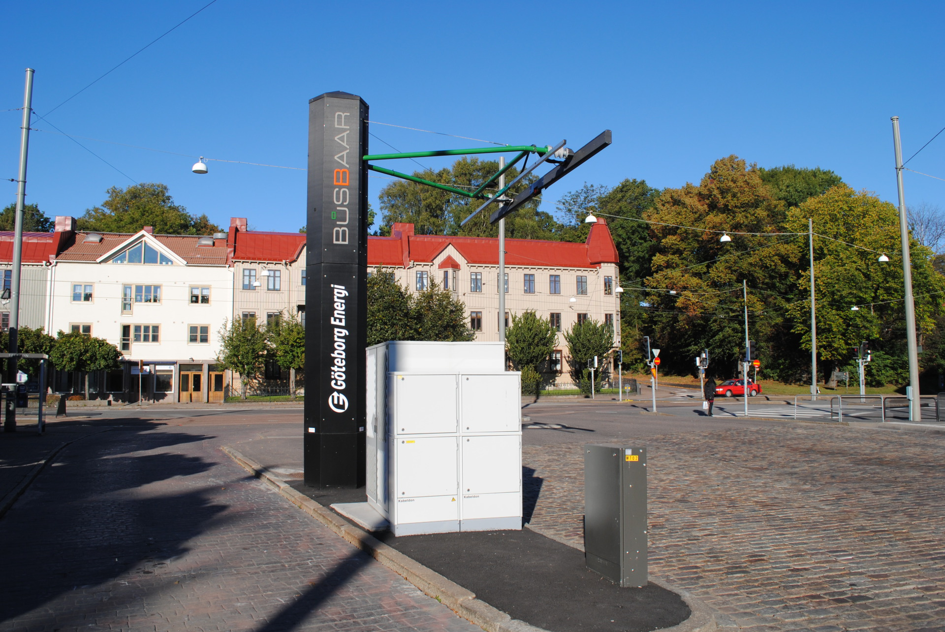 The Opbrid Bůsbaar Curbside Charger