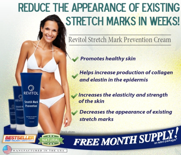 Revitol, stretch mark cream