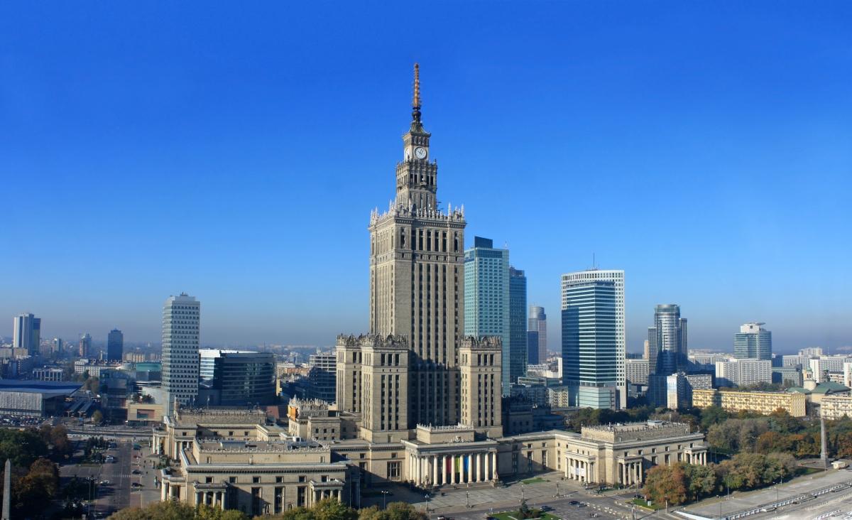 Warsaw business Sklyline