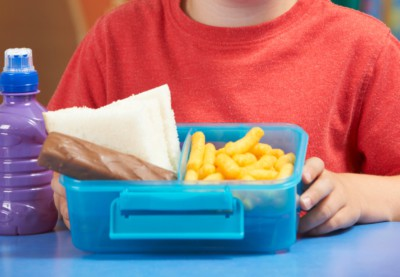 Just 1.6% Of School Packed Lunches Meet Nutritional Standards