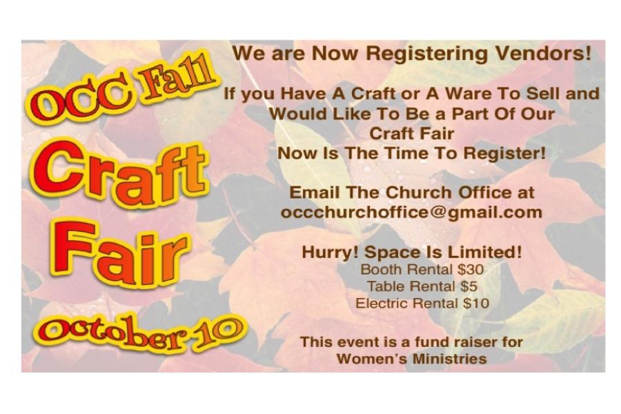 Women's Fall Craft Fair