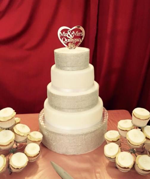 Diamonte Cake