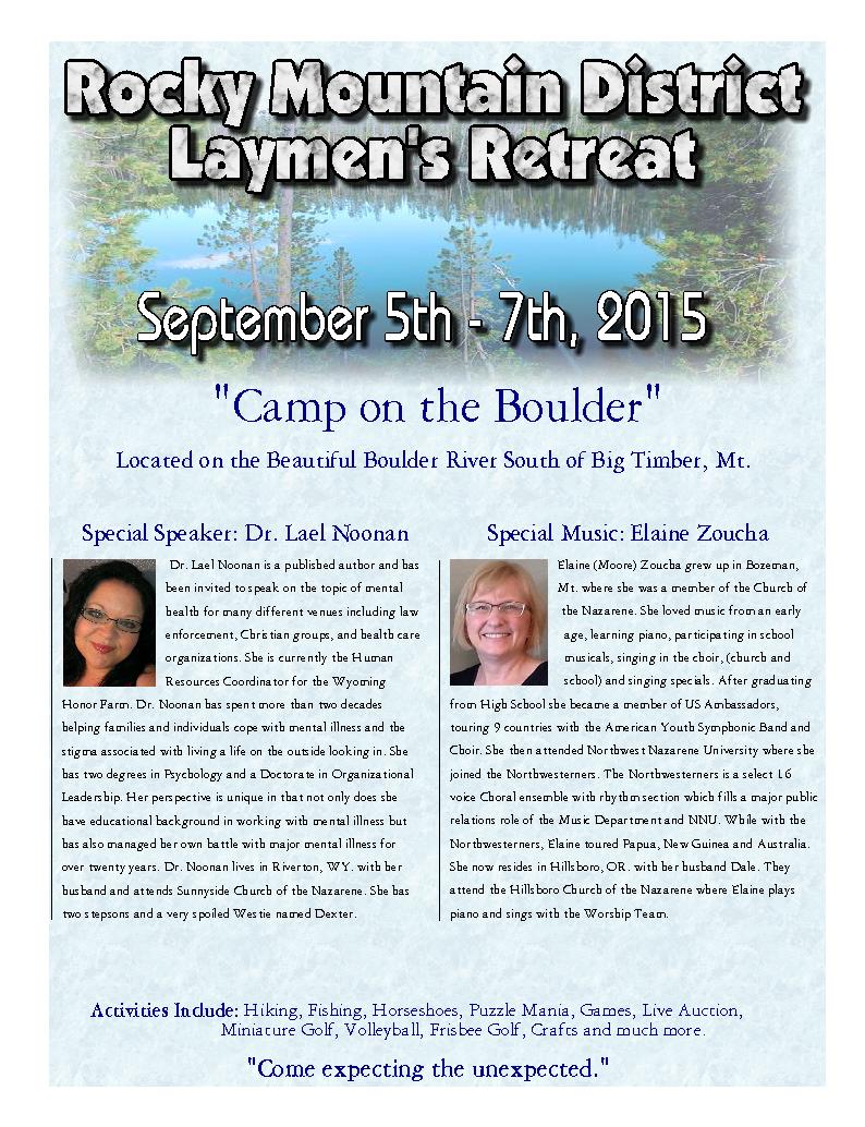 Layman's Retreat