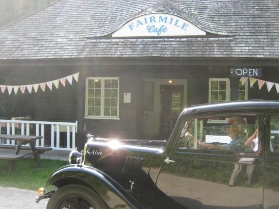Fairmile Cafe Open - Serving Cream Teas