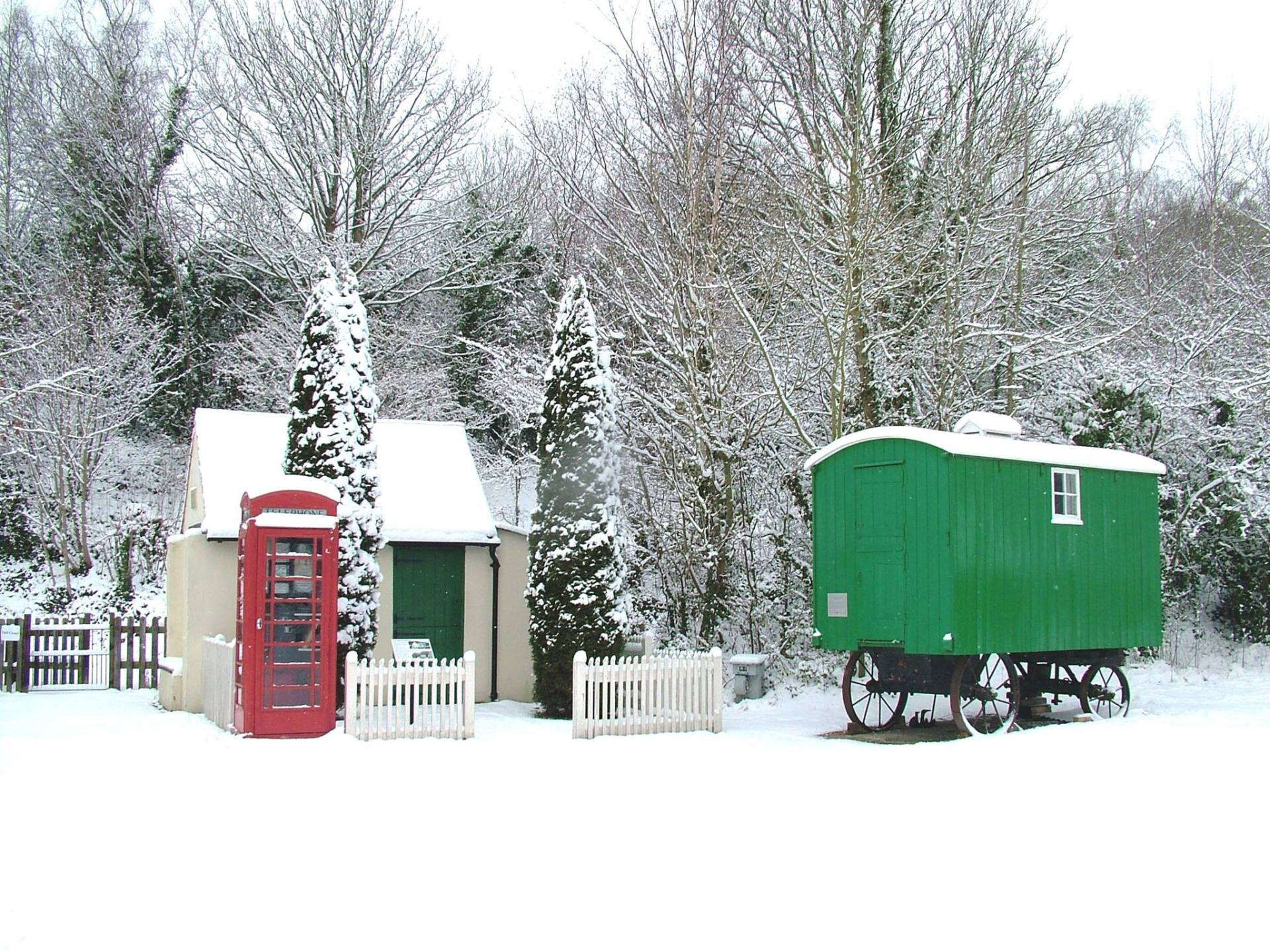 Come and see Santa at Amberley Museum - 5th, 6th, 12th, 13th, 19th & 20th December