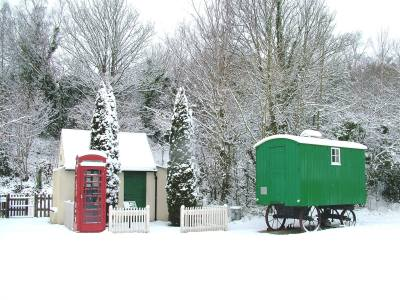 Come and see Santa at Amberley Museum - 5th, 6th, 12th, 13th, 19th & 20th December - Click the picture to download the booking form