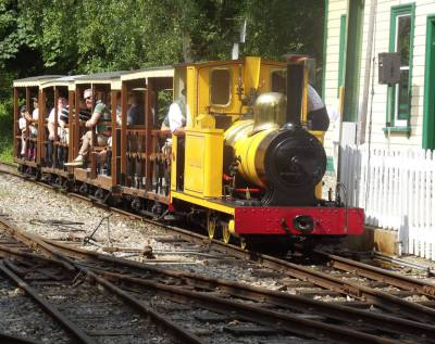 Sunday 28th August - Family Fun Day with Rail Steam