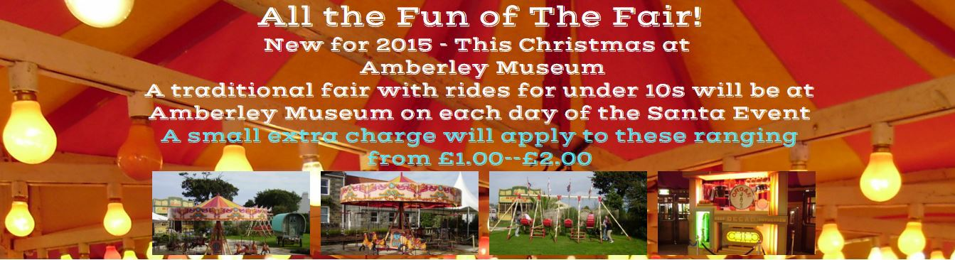 New for 2015! - A traditional fair running on each day of the Santa Event