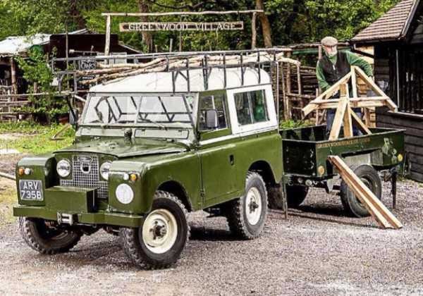Classic Landrover's Day