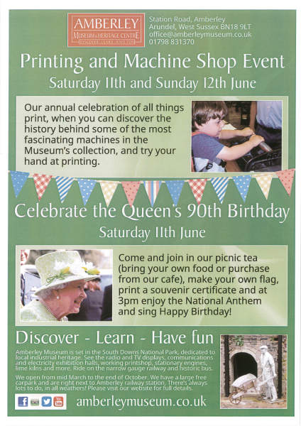 Saturday 11th June - Queen's Birthday Celebrations