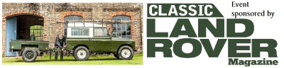 Sunday 2nd October - Classic Landrover's Day