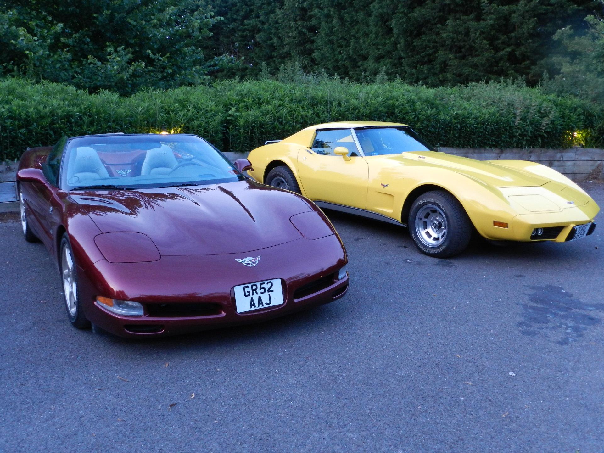 NEW - Corvette Car Club Sussex UK Club Visit