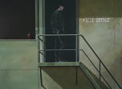 The Applicant, 2015, $6.000, Acrylic on Canvas, 91 x 122cm
