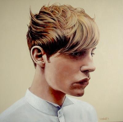 Boy 1, 2015, $6.000, Acrylic on Canvas, 92 x 92cm