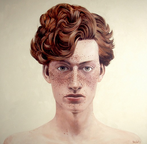 Boy 2, 2015, $6.000, Acrylic on Canvas, 92 x 92cm