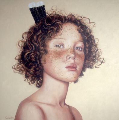 Rua Huia, 2015, $6.500, Acrylic on Canvas, 92 x 92cm