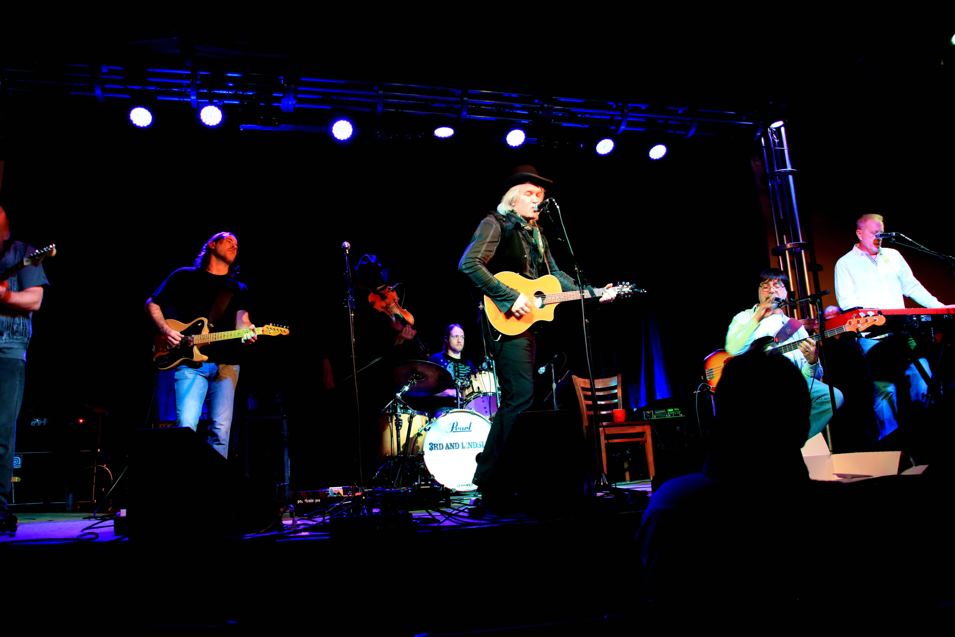 Chris Golden, Alabama, Teddy Gentry, 3rd & Lindsley,