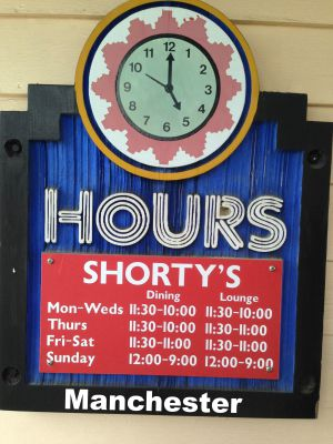 Shortys Mexican Roadhouse manchester  hours