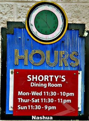Shortys Mexican Roadhouse Nashua hours