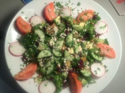 """""""Bleecker Street"""" Mexican Salad"""