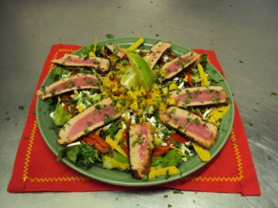 """Fuego"" Tuna Salad"