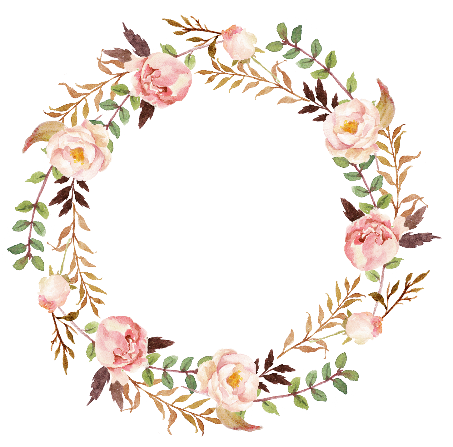 Spring Flower Wreath Clip Art Together With Free Vintage  : Flower20wreath61450 from vacances-mediterranee.info size 1450 x 1431 png 1569kB