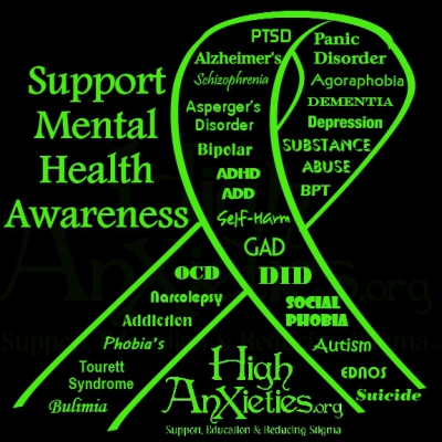 May is National Mental Heatlh Awareness Month