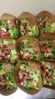Shortys Sandwich Shop Catering Box Salad