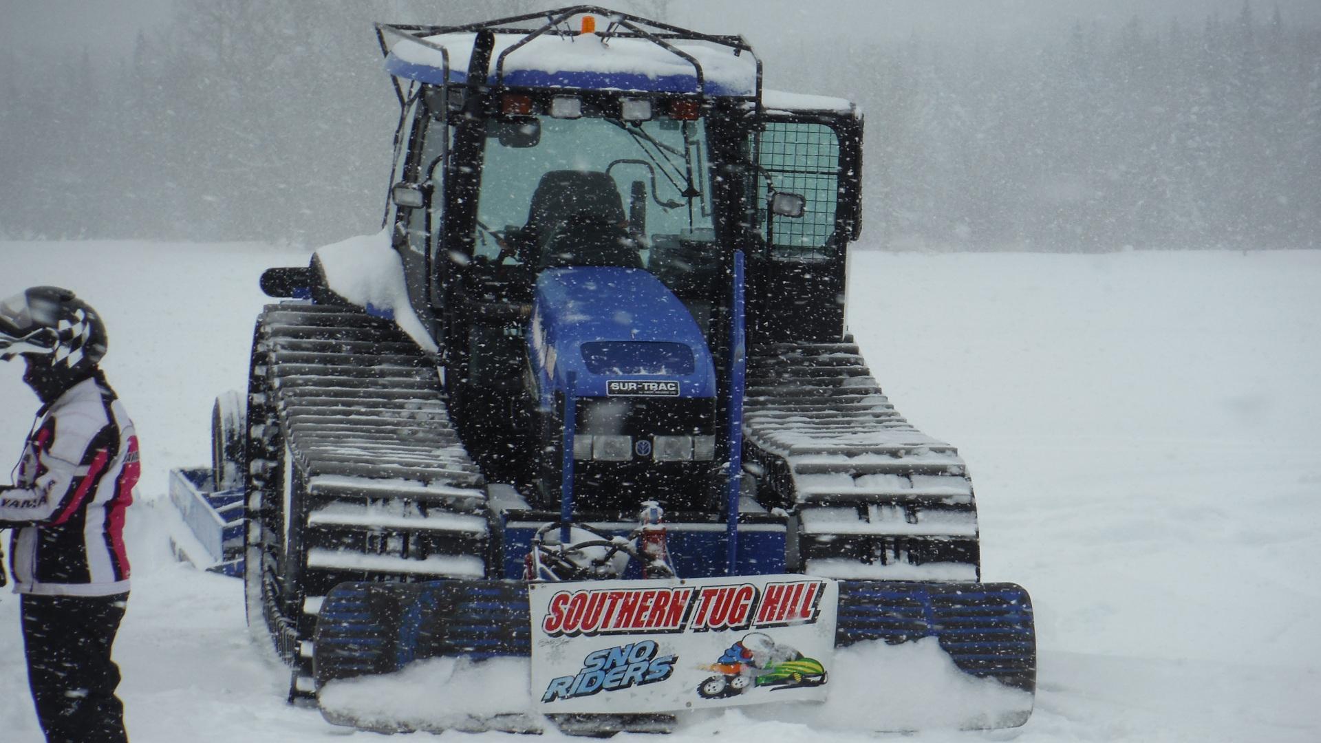 Snowmobile Groomer Image