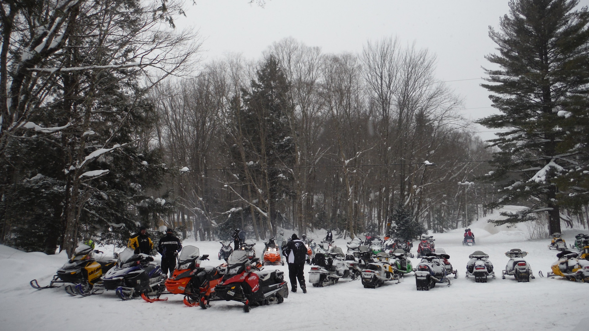 Trail Reporters snowmobiling