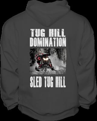 Sled Tug Hill Sweatshirt back