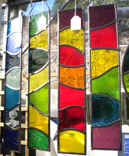 Fused and stained glass