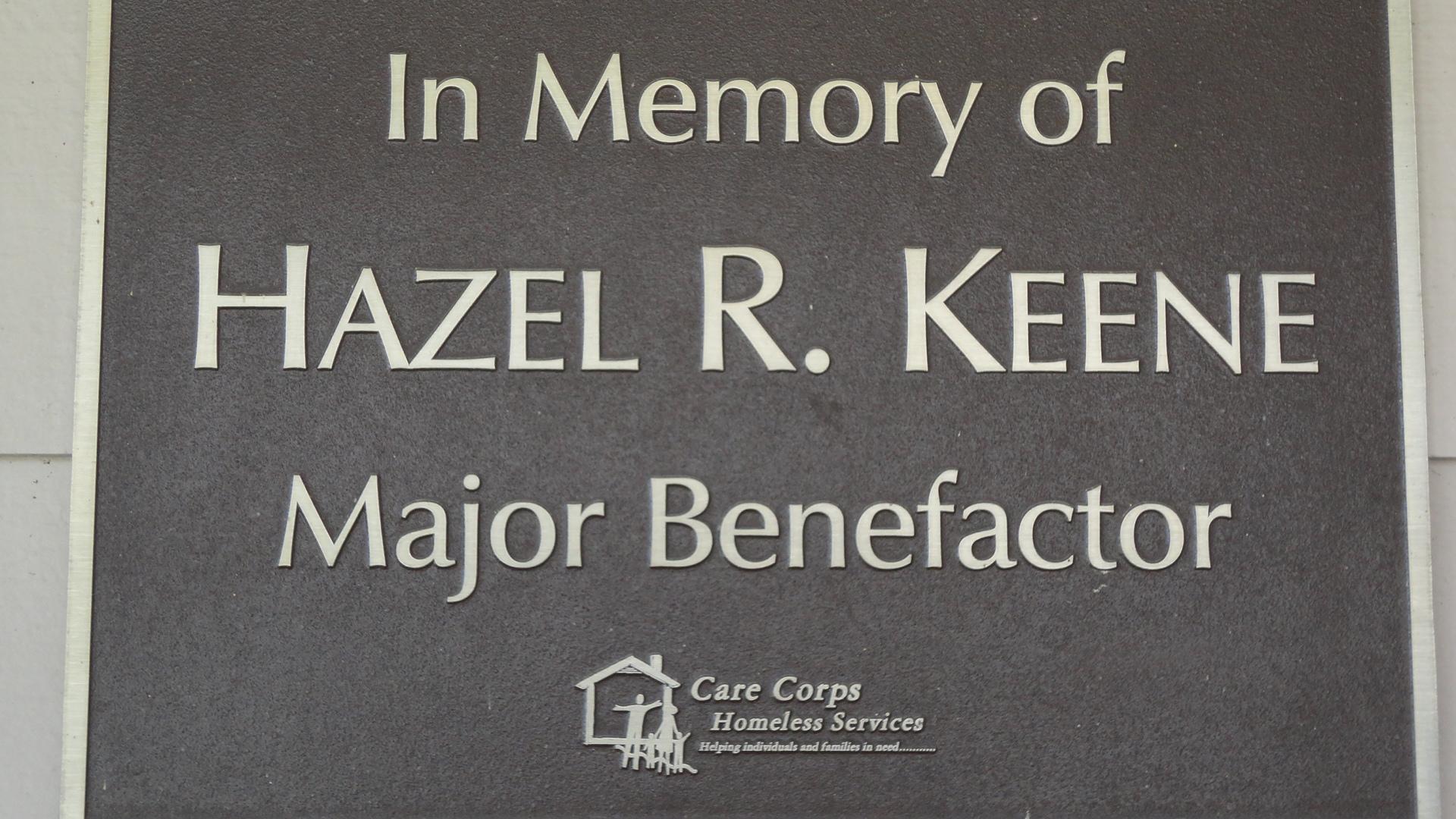 In Memory Of Hazel.R.Keene