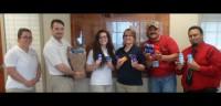 Midland's Deodorant Donation 10-07-15