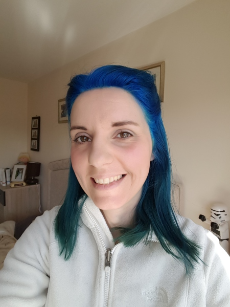I have Blue hair!