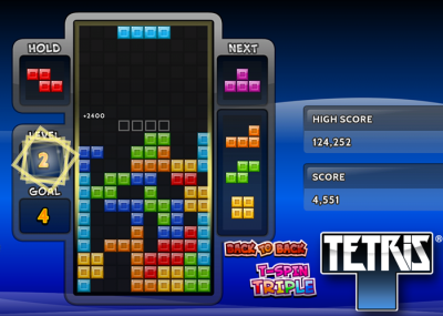 Tetris on Amazon Fire TV