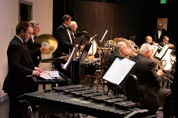 April 2014 concert - percussion section