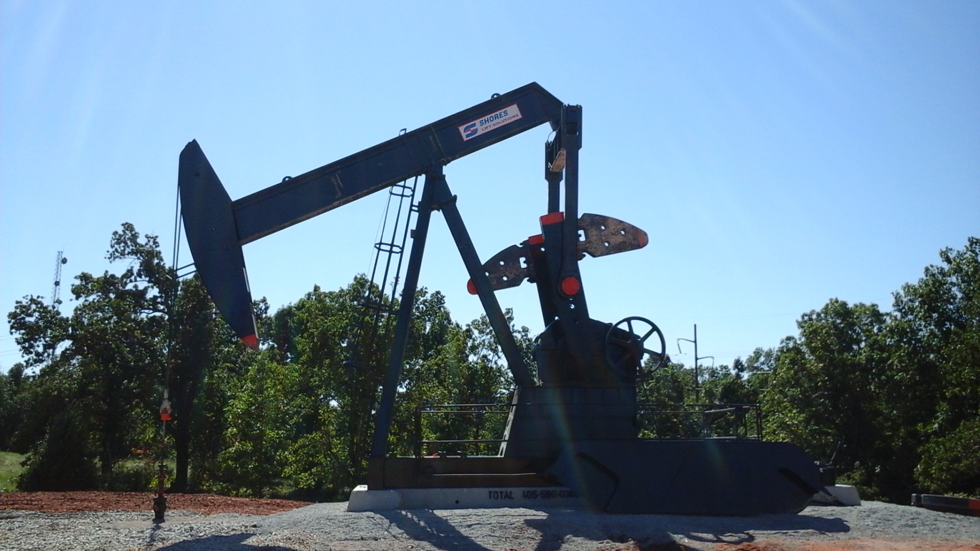 Cannon Operating Pumpjack