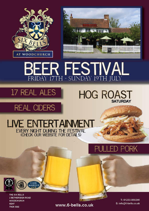 Beer Festival 17th  - 19th July