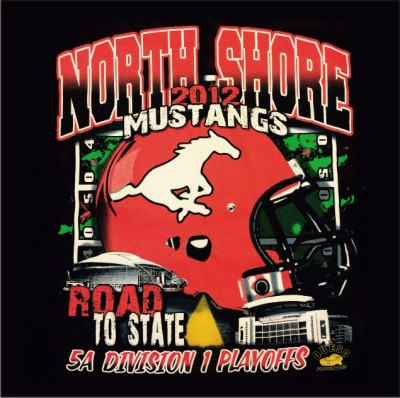 North Shore Football- Screen Print
