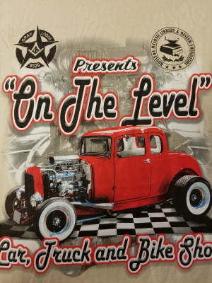 On the Level Car Show- Screen Print