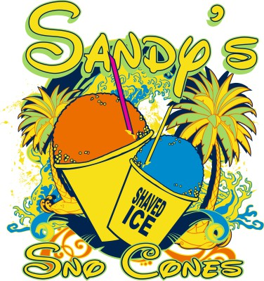 Sandy Sno Cones- Graphic Design.