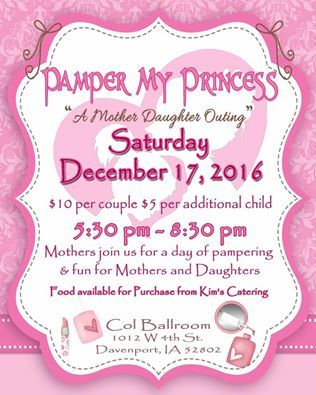 Pamper My Princess Mother Daughter Event