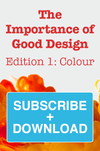 The Importance of good design banner