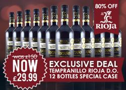 Rioja Wines Banner