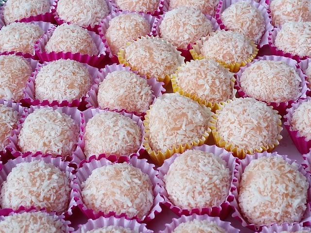 Homemade Coconut Snack Balls