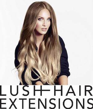 Lush Hair Extensions Banner