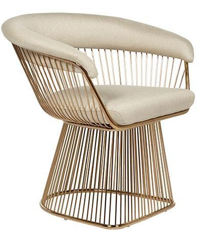 Gold Occasional chair