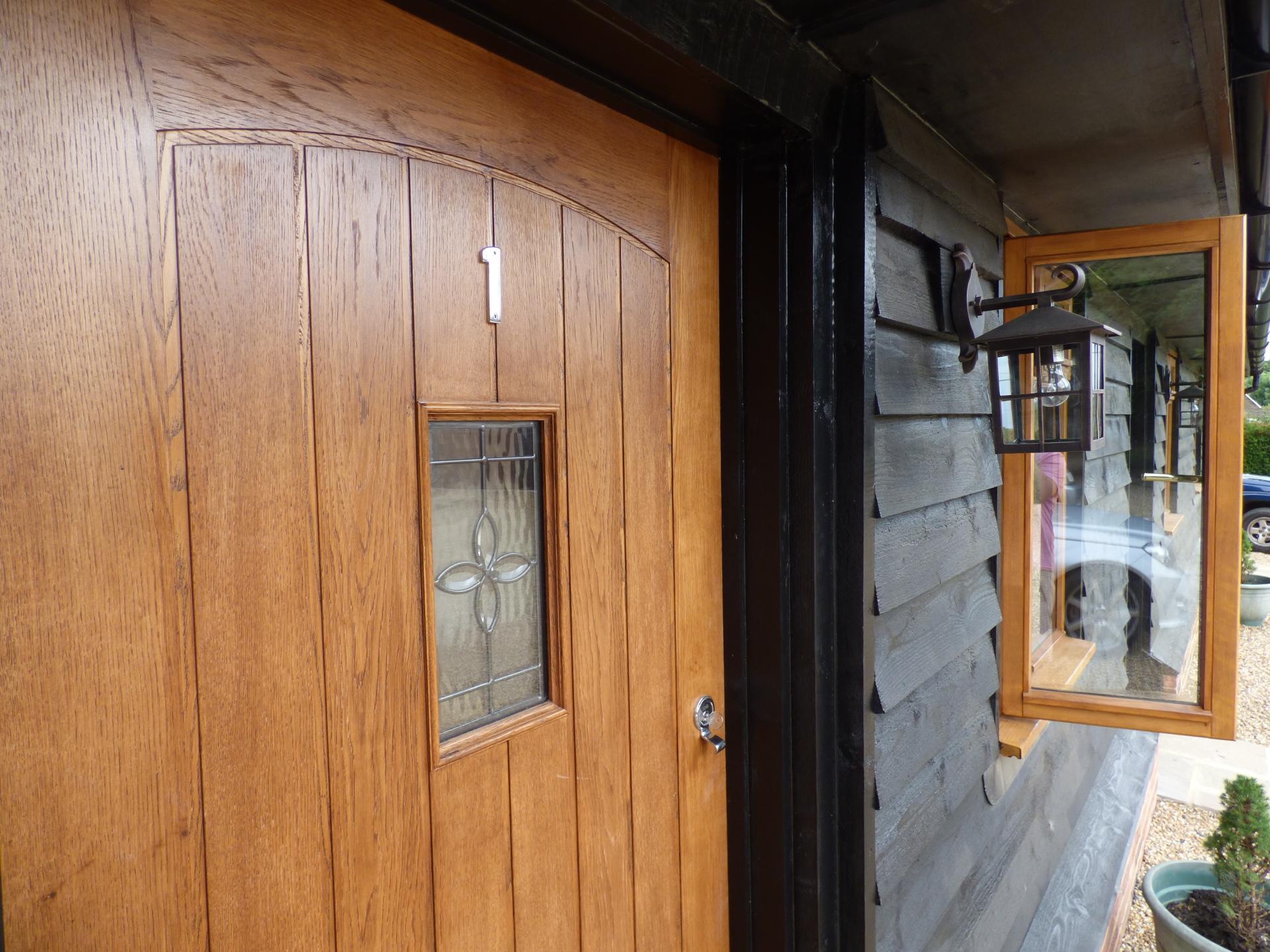 Close up front door Bed & Breakfast